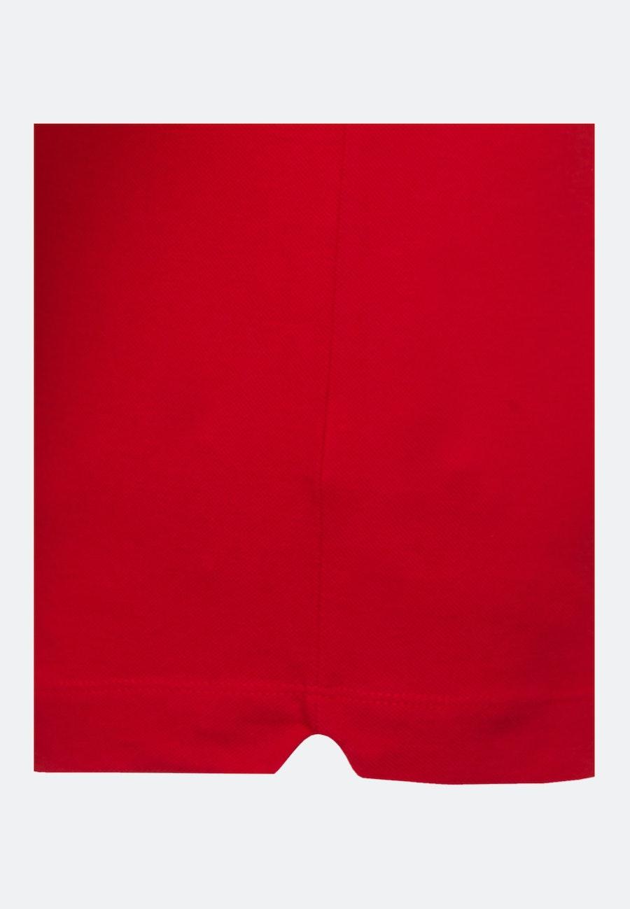 Polo-Shirt aus 100% Baumwolle in Rot |  Seidensticker Onlineshop