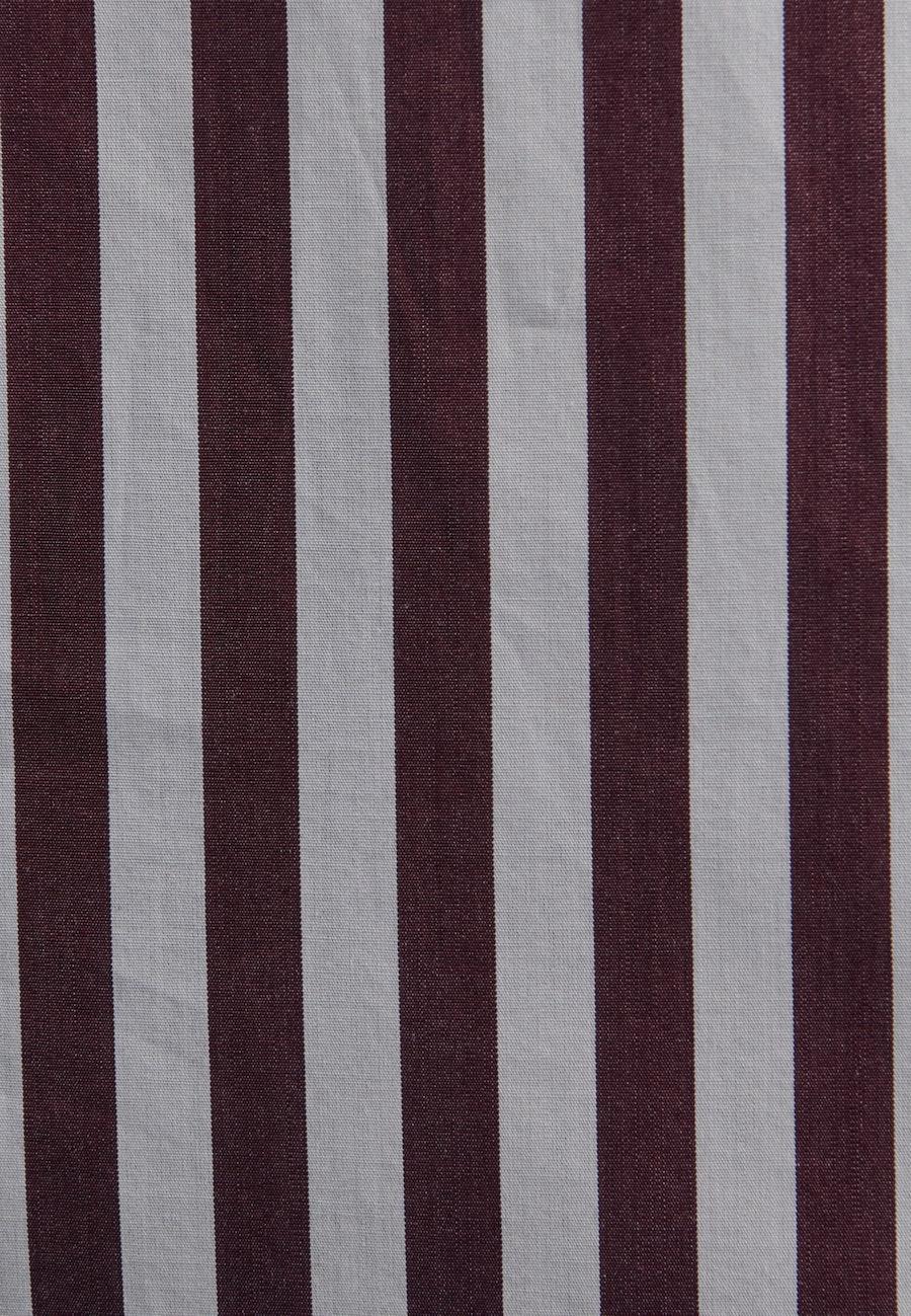Poplin Shirt Blouse made of 100% Cotton in Red |  Seidensticker Onlineshop