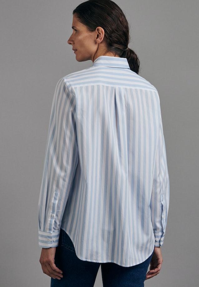 Popeline Hemdbluse aus 100% Baumwolle in Hellblau |  Seidensticker Onlineshop