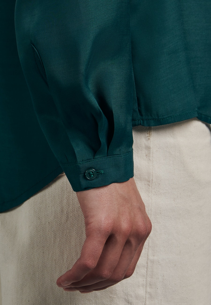 Voile Tunic made of 100% Viscose in Green |  Seidensticker Onlineshop