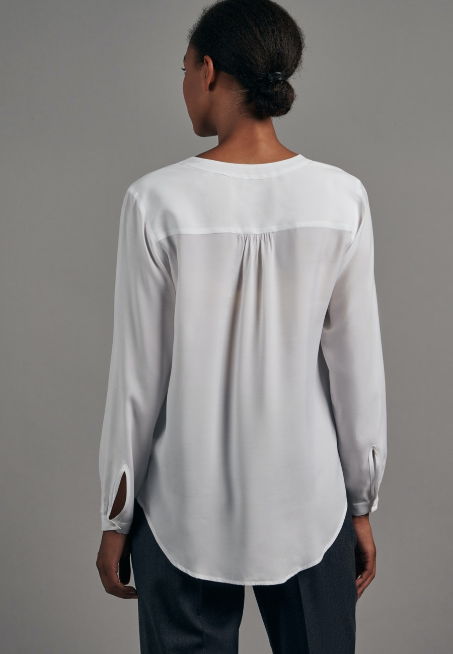 Voile Tunic made of 100% Viscose in White |  Seidensticker Onlineshop