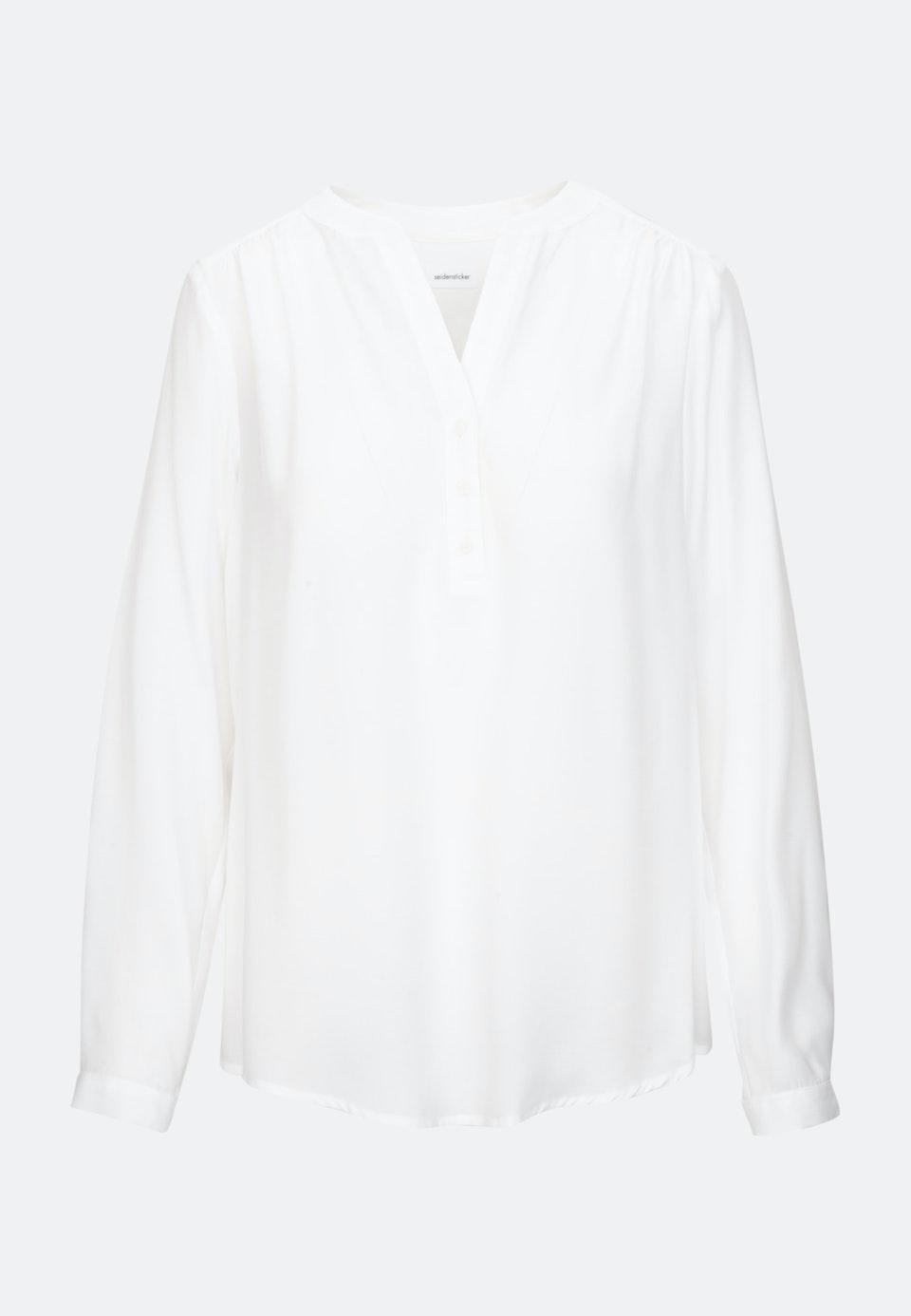 Voile Tunika aus 100% Viskose in Weiß |  Seidensticker Onlineshop