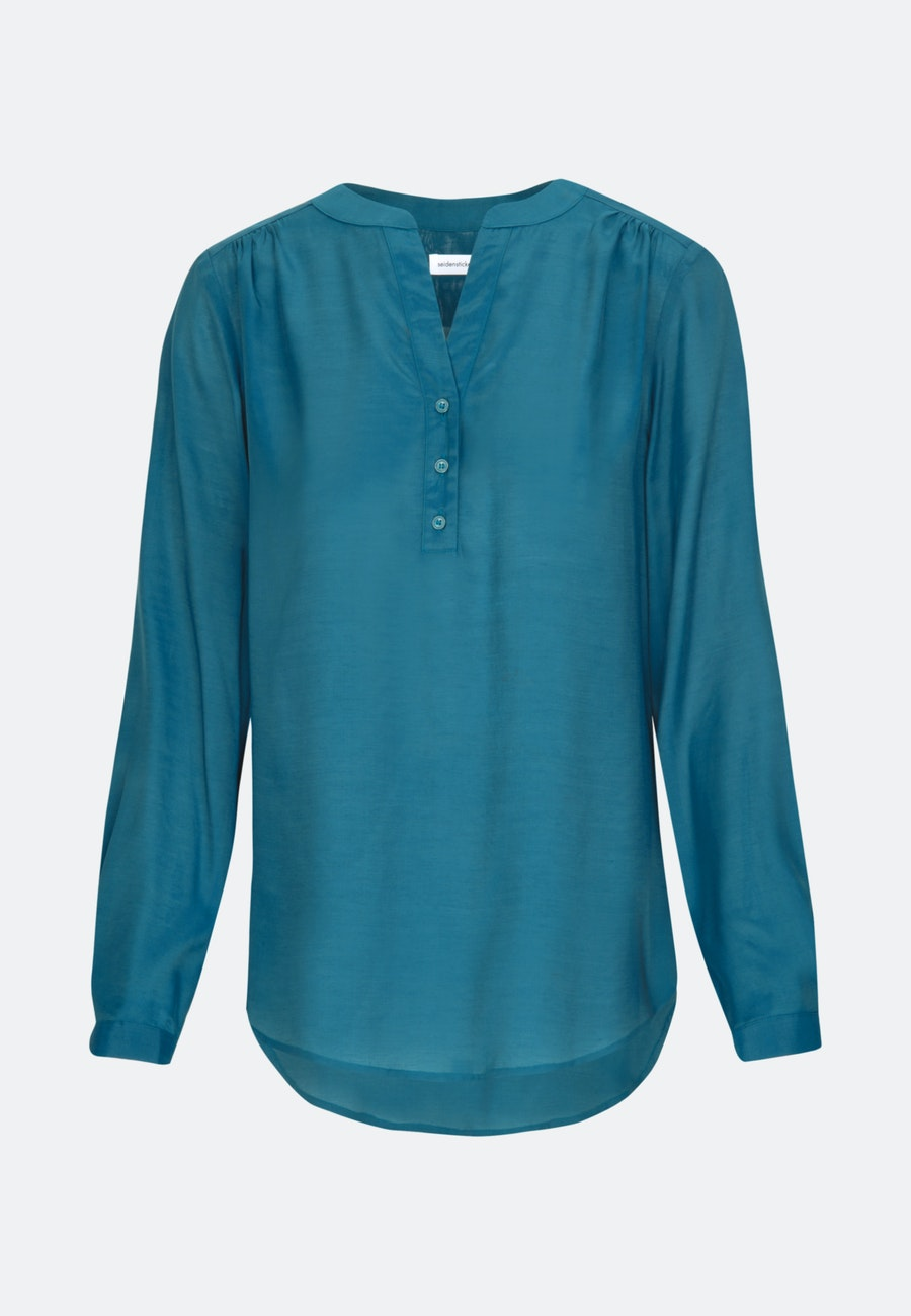 Voile Tunic made of 100% Viscose in Turquoise    Seidensticker Onlineshop