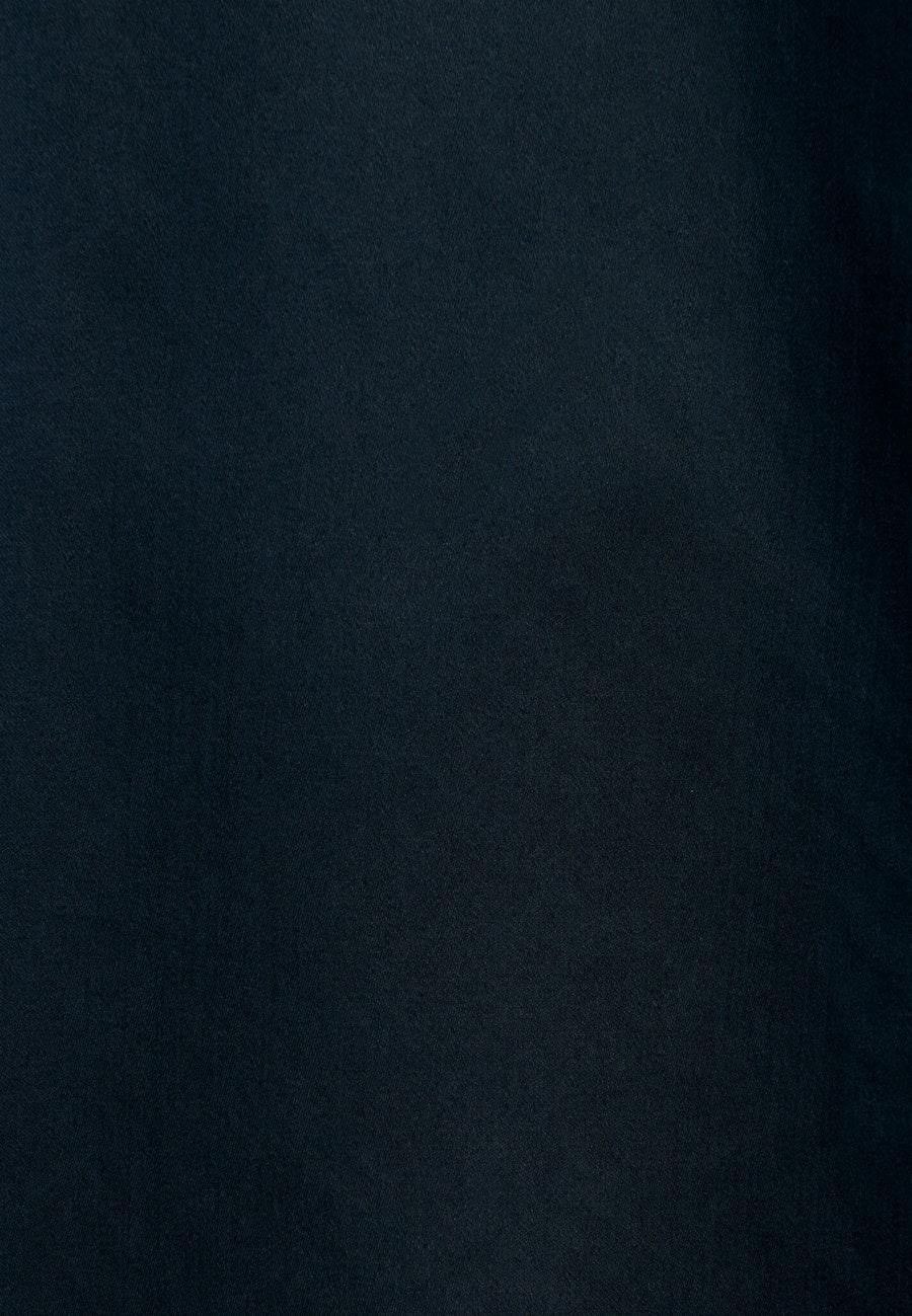 Satin Hemdbluse aus 100% Baumwolle in Schwarz    Seidensticker Onlineshop