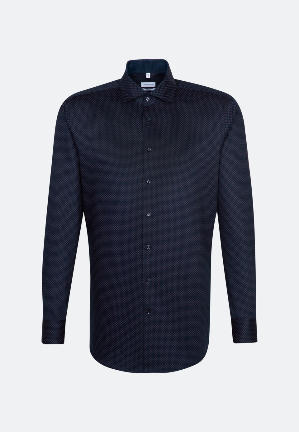 Easy-iron Twill Business Shirt in Regular with Kent-Collar in Rot    Seidensticker Onlineshop
