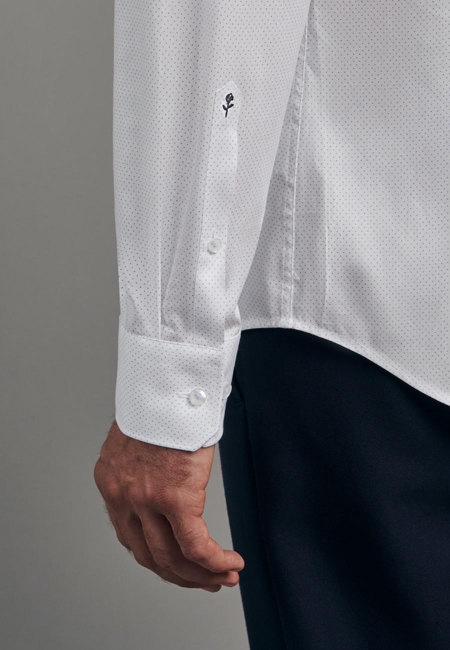 Oxfordhemd in Shaped mit Kentkragen in Hellblau |  Seidensticker Onlineshop
