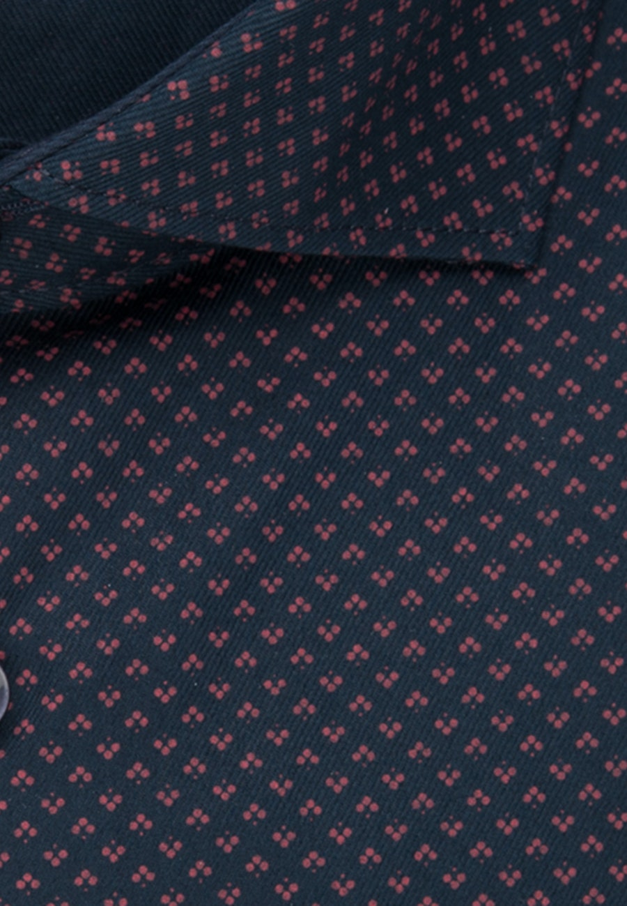 Easy-iron Twill Business Shirt in Slim with Kent-Collar in Red |  Seidensticker Onlineshop