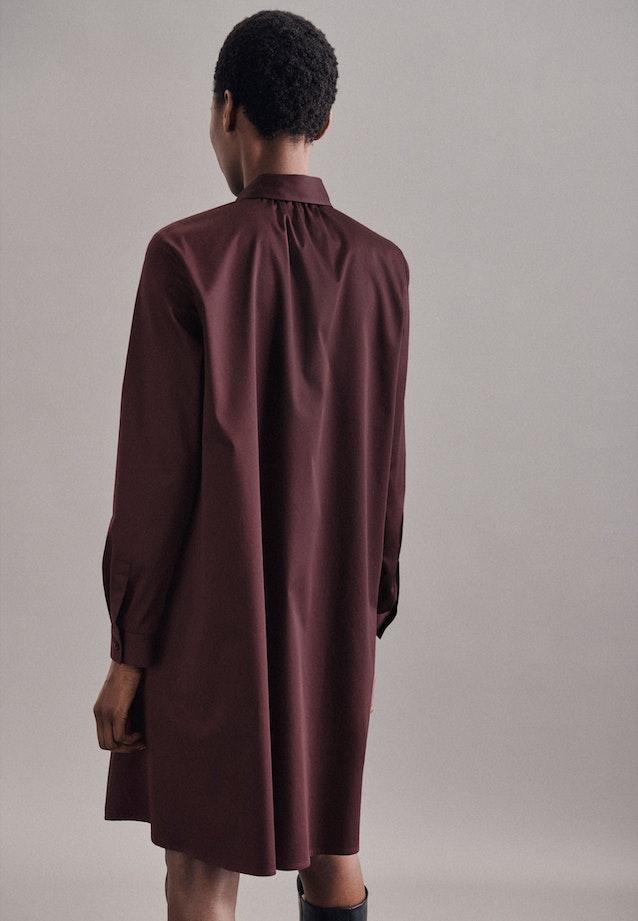 Satin Midi Dress made of cotton blend in Red |  Seidensticker Onlineshop