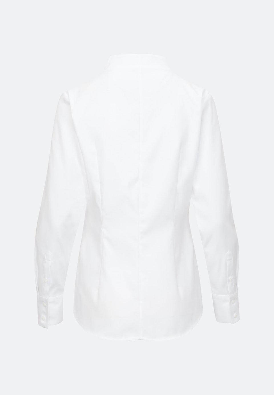 Twill Chalice Blouse made of 100% Cotton in White |  Seidensticker Onlineshop