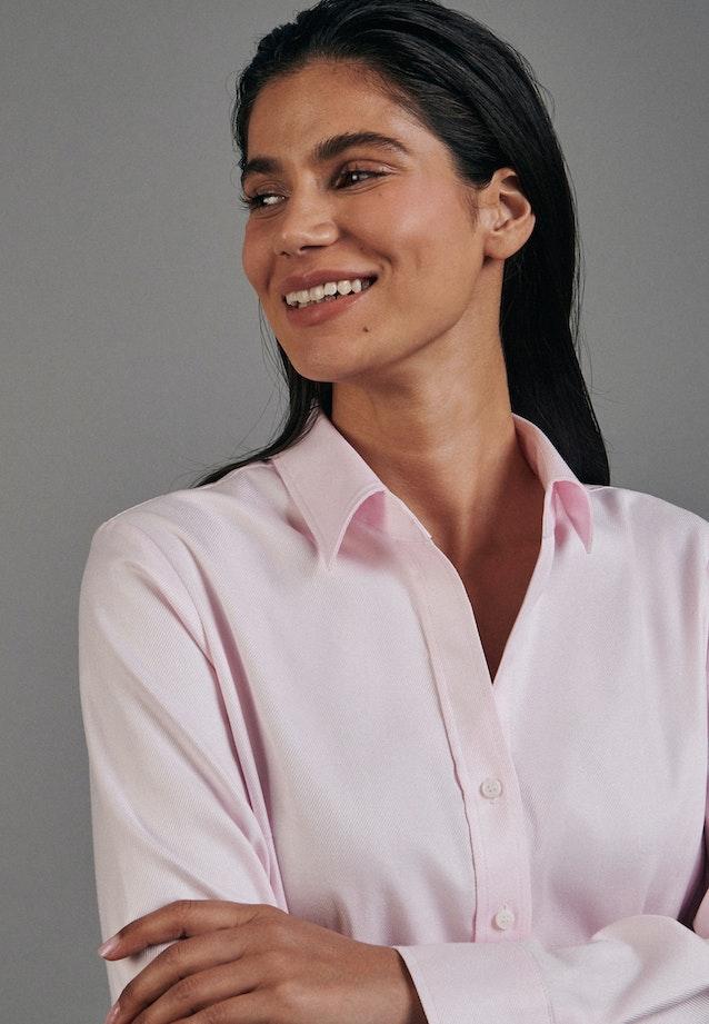 Twill Shirt Blouse made of 100% Cotton in Pink |  Seidensticker Onlineshop