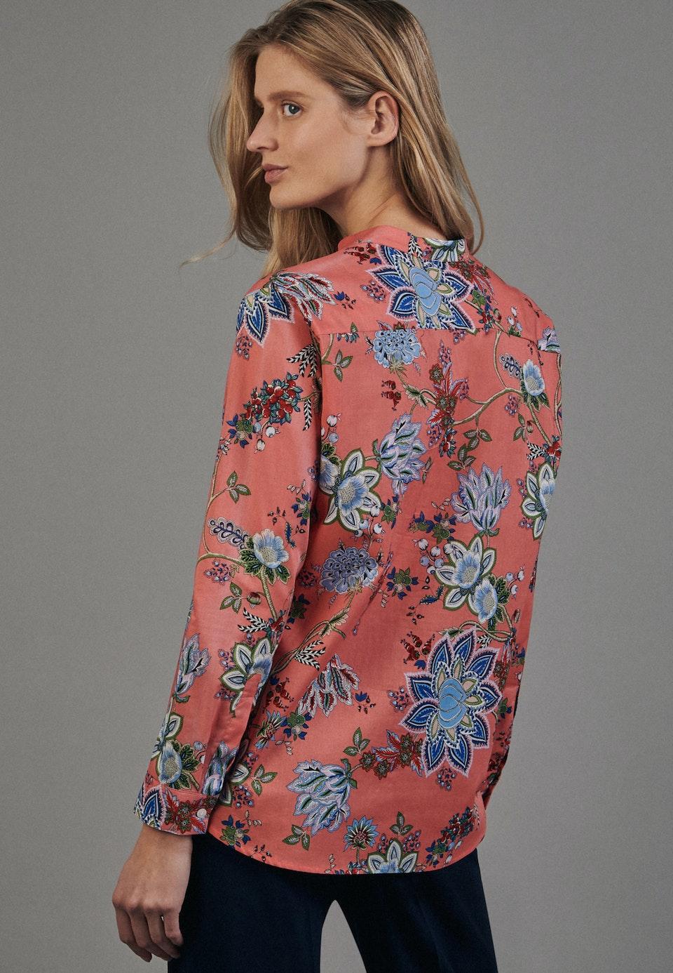 Popeline Tunika aus 100% Baumwolle in Rosa/Pink    Seidensticker Onlineshop