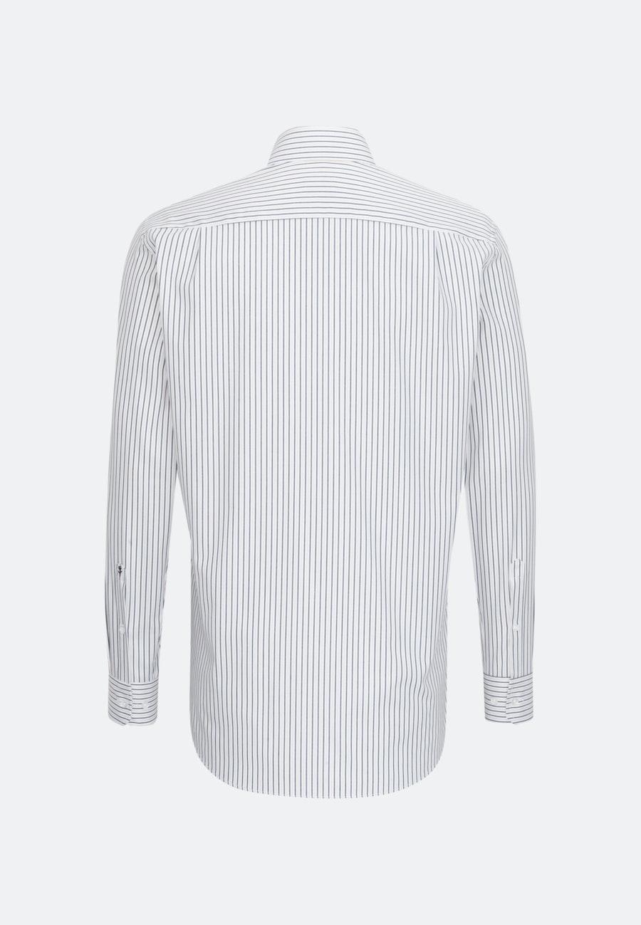 Bügelleichtes Oxford Business Hemd in Regular mit Kentkragen in Braun    Seidensticker Onlineshop