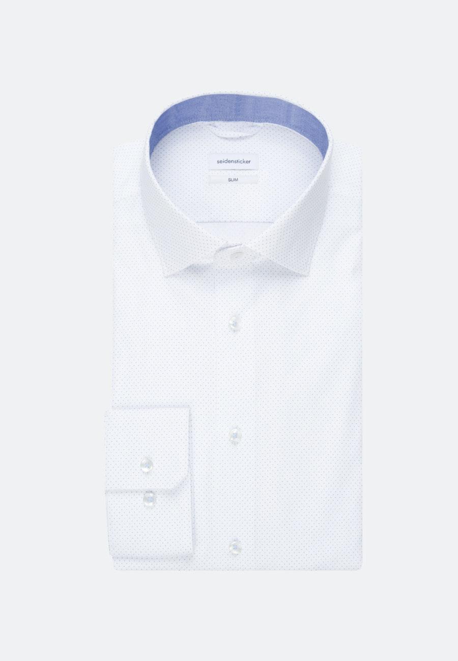 Oxfordhemd in Slim mit Kentkragen in Hellblau |  Seidensticker Onlineshop