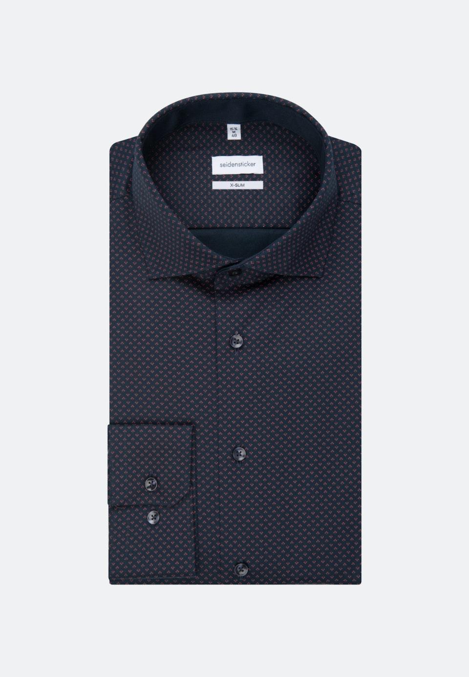 Easy-iron Twill Business Shirt in X-Slim with Kent-Collar in Red |  Seidensticker Onlineshop