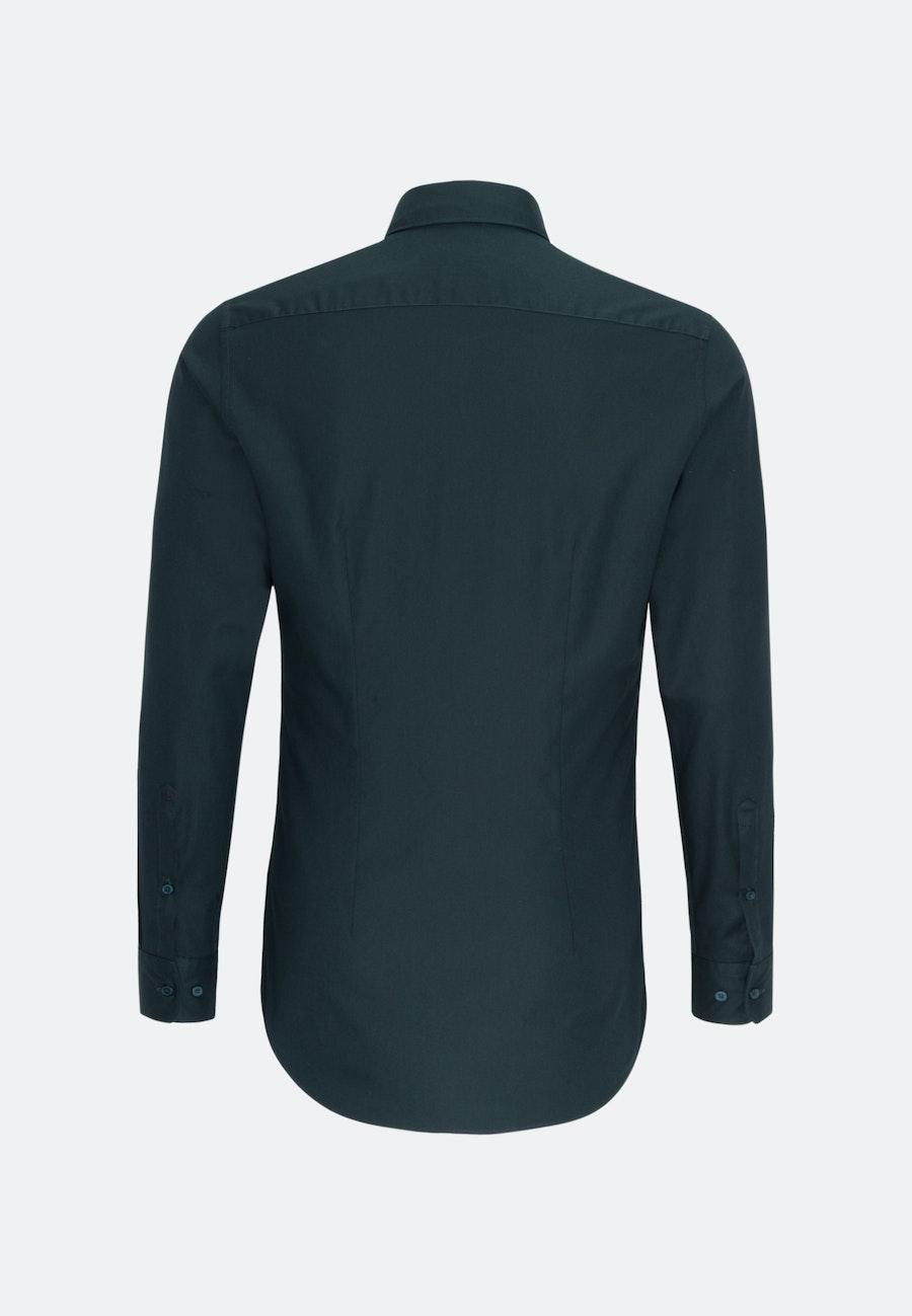 Twill Business Hemd in X-Slim mit Kentkragen in Grün |  Seidensticker Onlineshop