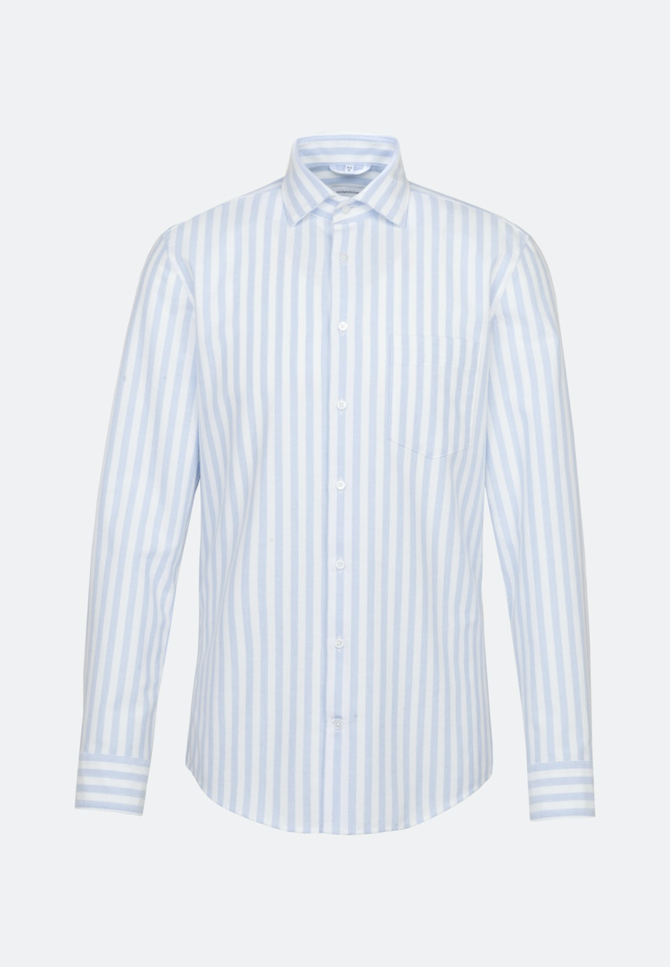 Oxford Business Hemd in Slim mit Kentkragen in Hellblau |  Seidensticker Onlineshop