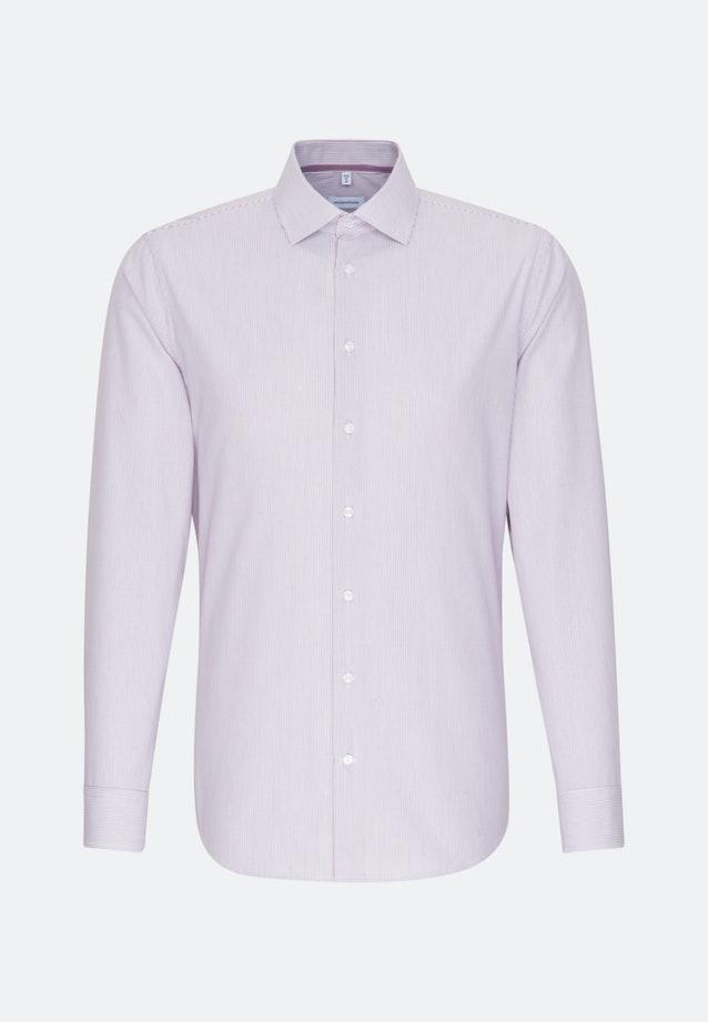 Bügelfreies Popeline Business Hemd in Shaped mit Kentkragen in Rosa/Pink |  Seidensticker Onlineshop