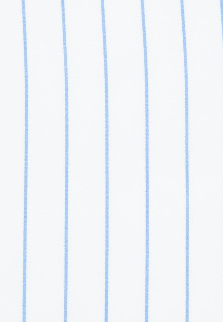 Krepp Wraparound Blouse made of 100% Viscose in Light blue |  Seidensticker Onlineshop