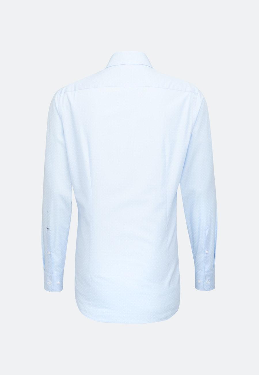Easy-iron Popeline Business Shirt in Shaped with Kent-Collar in Light blue |  Seidensticker Onlineshop