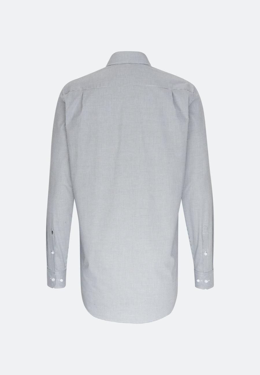 Bügelfreies Popeline Business Hemd in Regular mit Kentkragen und extra langem Arm in Grün |  Seidensticker Onlineshop