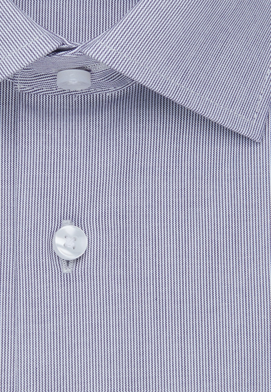 Non-iron Popeline Business Shirt in Regular with Kent-Collar and extra long sleeve in Purple |  Seidensticker Onlineshop