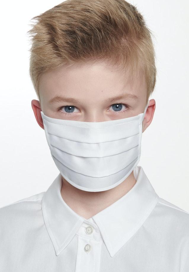10er-Pack Kinder Mund-Nasen-Masken aus 100% Baumwolle in Weiß    Seidensticker Onlineshop