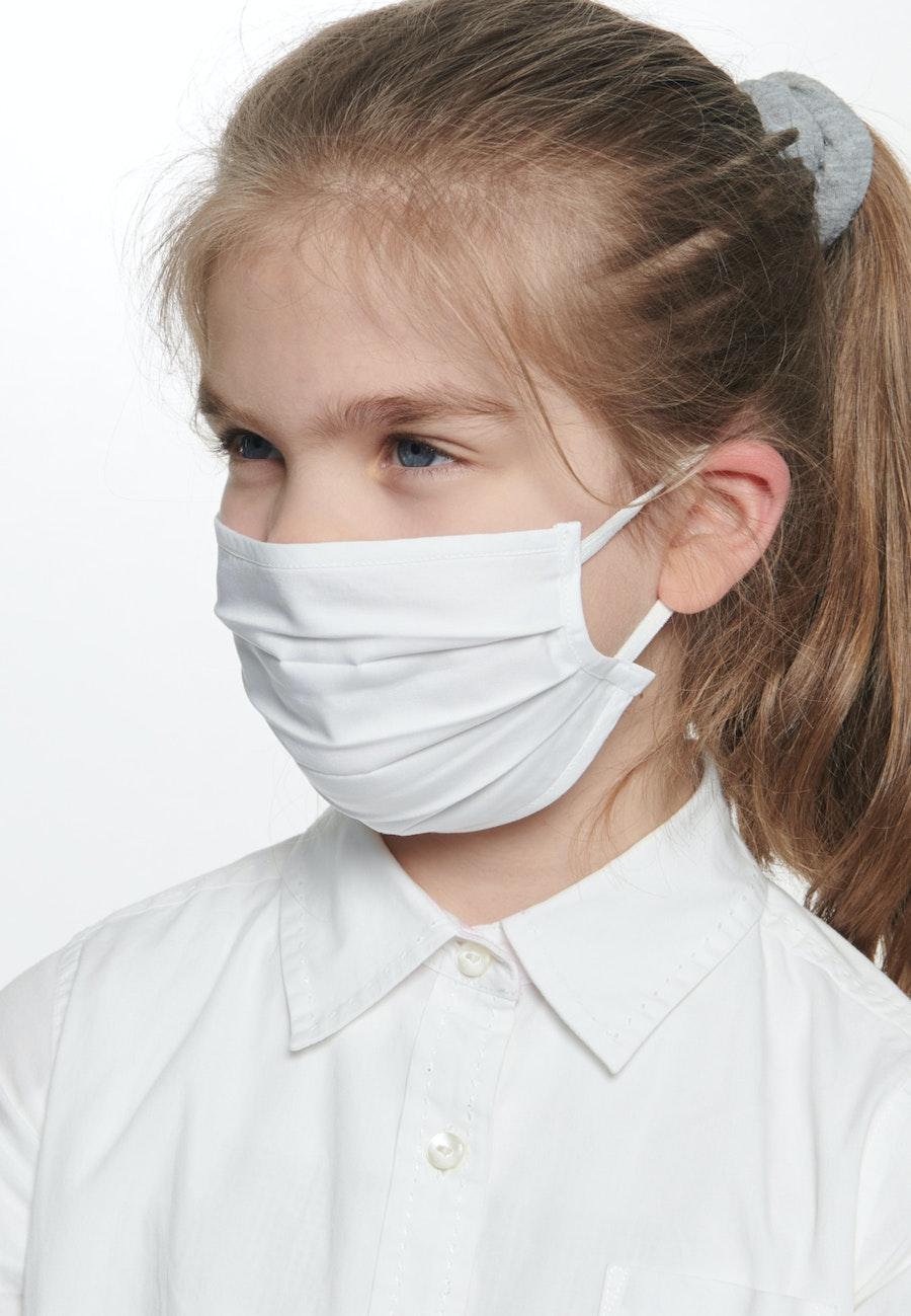 10er-Pack Kinder Mund-Nasen-Masken aus 100% Baumwolle in Weiß |  Seidensticker Onlineshop