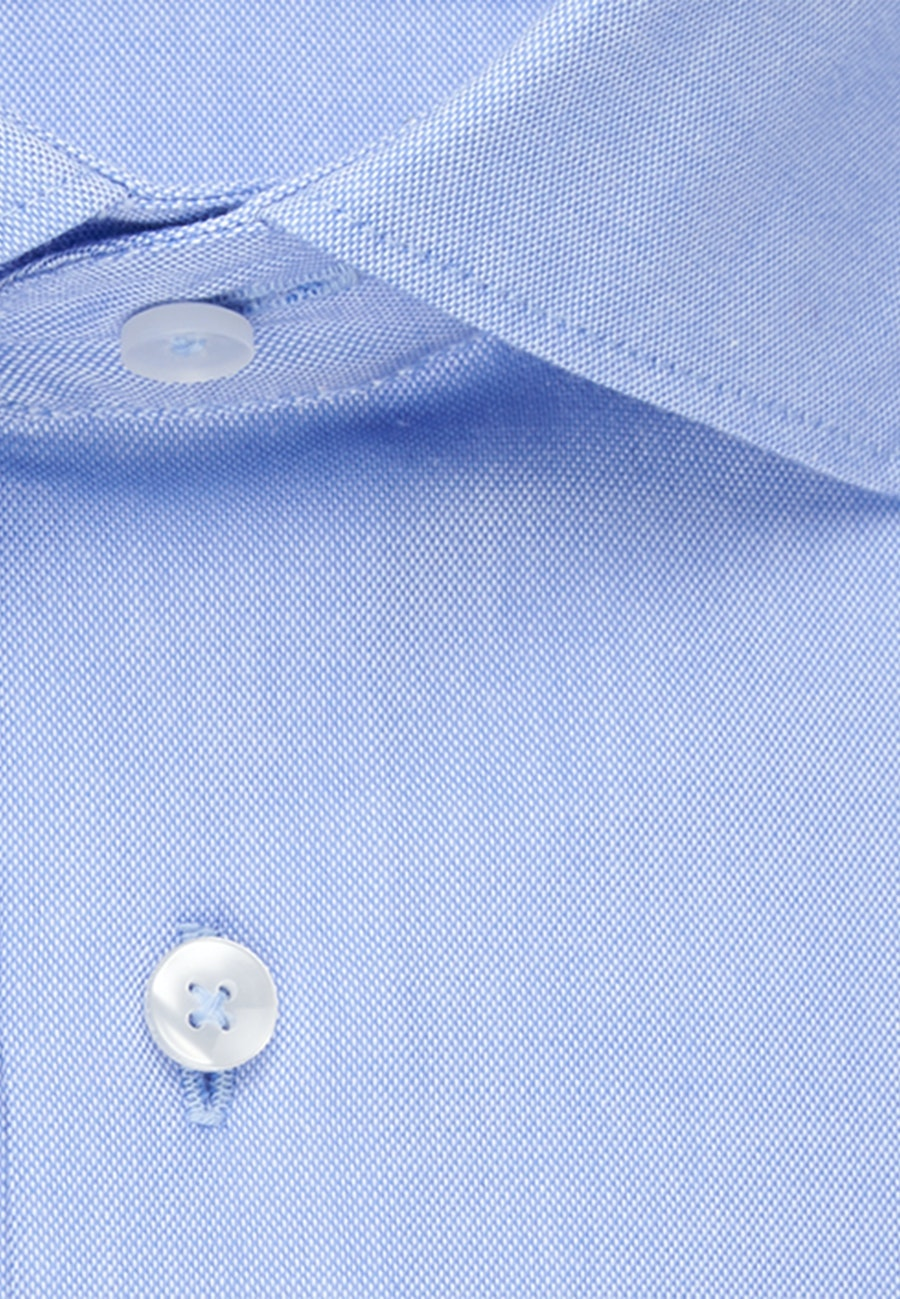Non-iron Oxford Business Shirt in X-Slim with Kent-Collar in Light blue |  Seidensticker Onlineshop