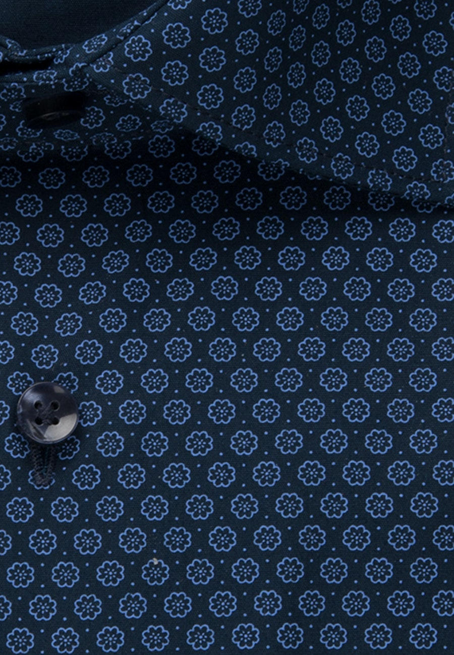Popeline Business Hemd in Shaped mit Kentkragen in Hellblau |  Seidensticker Onlineshop