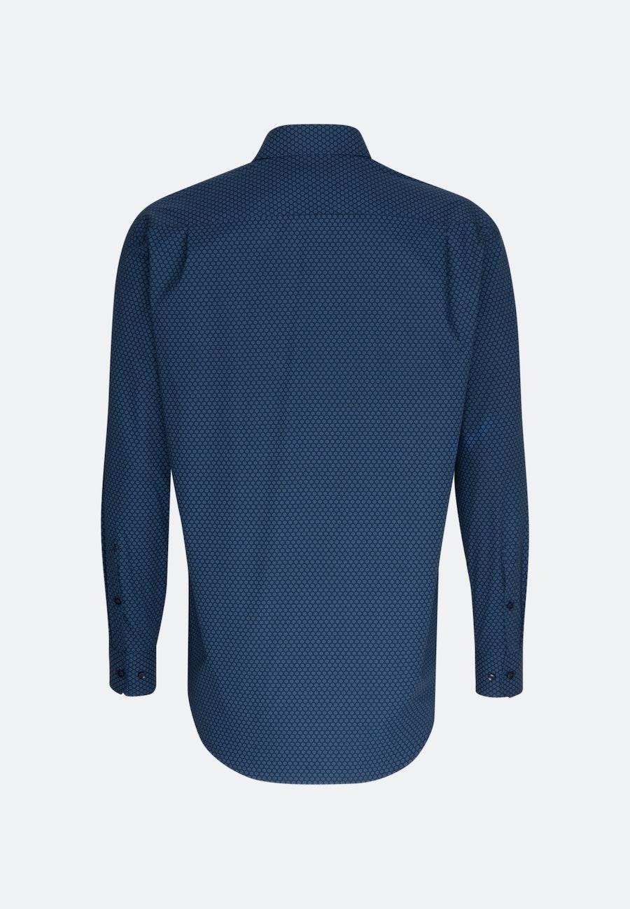 Easy-iron Popeline Business Shirt in Regular with Kent-Collar in Light blue |  Seidensticker Onlineshop