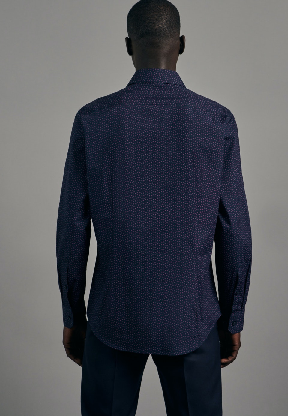 Easy-iron Popeline Business Shirt in Shaped with Kent-Collar in Pink    Seidensticker Onlineshop