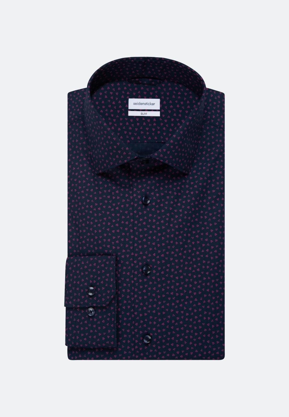Easy-iron Popeline Business Shirt in Slim with Kent-Collar in Pink |  Seidensticker Onlineshop