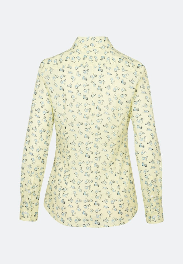 Poplin Shirt Blouse made of 100% Cotton in Yellow |  Seidensticker Onlineshop