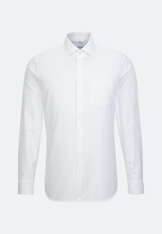 Oxford Business Shirt in Shaped with Kent-Collar in White |  Seidensticker Onlineshop
