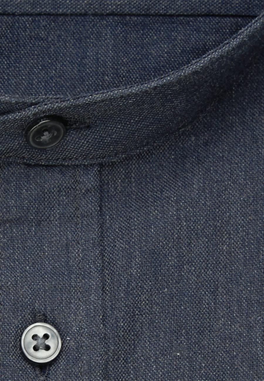 Panama Business Hemd in Slim mit Stehkragen in Grau |  Seidensticker Onlineshop