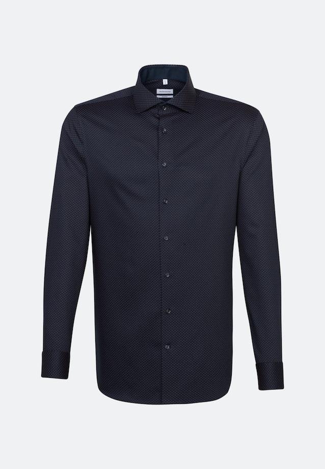 Bügelleichtes Twill Business Hemd in Shaped mit Kentkragen in Rot    Seidensticker Onlineshop