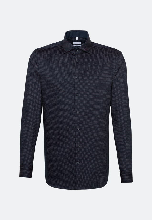 Easy-iron Twill Business Shirt in Shaped with Kent-Collar in Red    Seidensticker Onlineshop