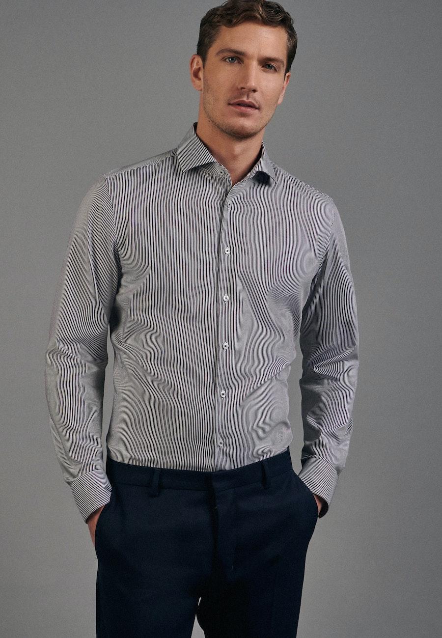 Non-iron Twill Business Shirt in Slim with Kent-Collar in Red |  Seidensticker Onlineshop