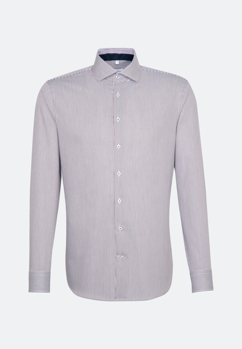 Non-iron Twill Business Shirt in Shaped with Kent-Collar in Red |  Seidensticker Onlineshop