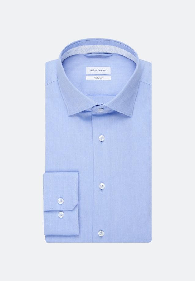 Oxford Shirt Regular Long Sleeve Kent in Light blue |  Seidensticker Onlineshop