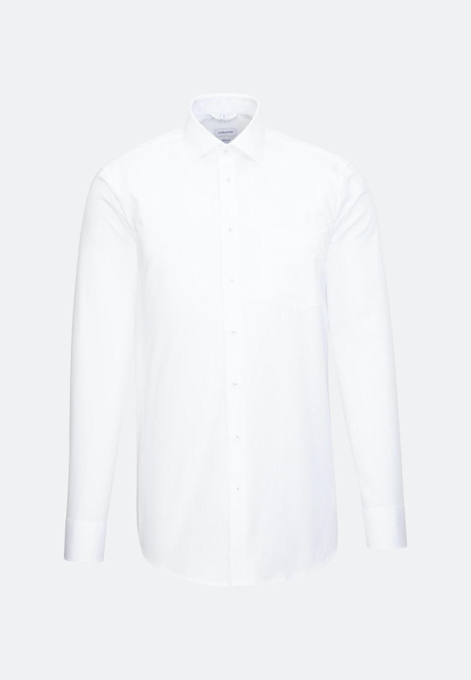 Non-iron Oxford Business Shirt in Regular with Kent-Collar in Weiß |  Seidensticker Onlineshop