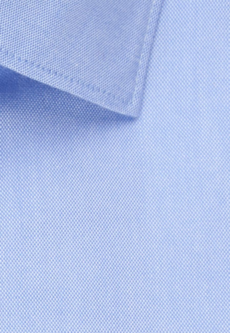 Bügelfreies Oxford Business Hemd in Comfort mit Kentkragen in Hellblau |  Seidensticker Onlineshop