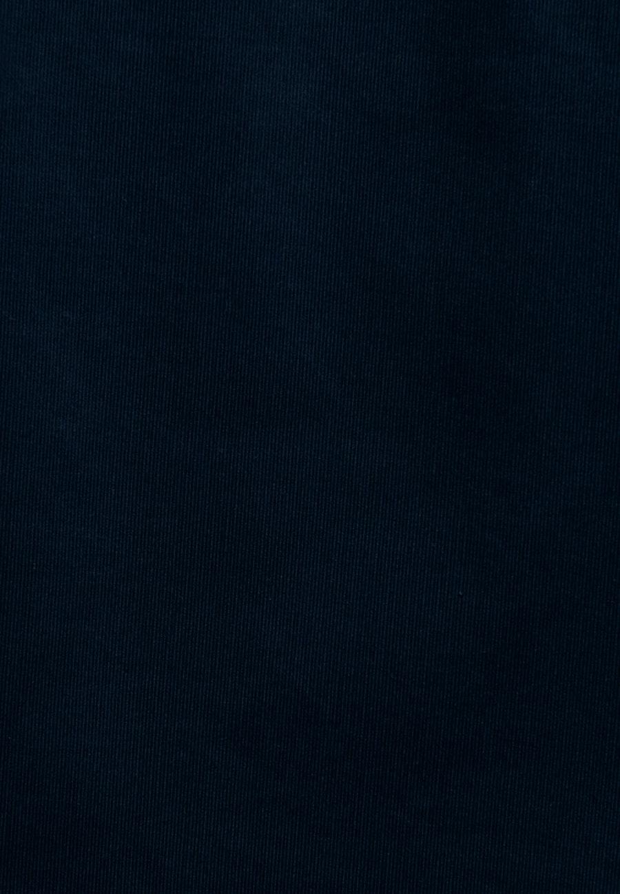 Cord Midi Rock aus 100% Baumwolle in Dunkelblau |  Seidensticker Onlineshop