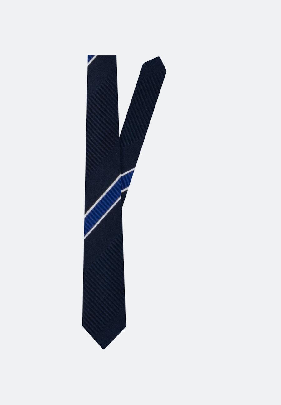 Krawatte aus 100% Seide 5 cm Breit in Mittelblau |  Seidensticker Onlineshop
