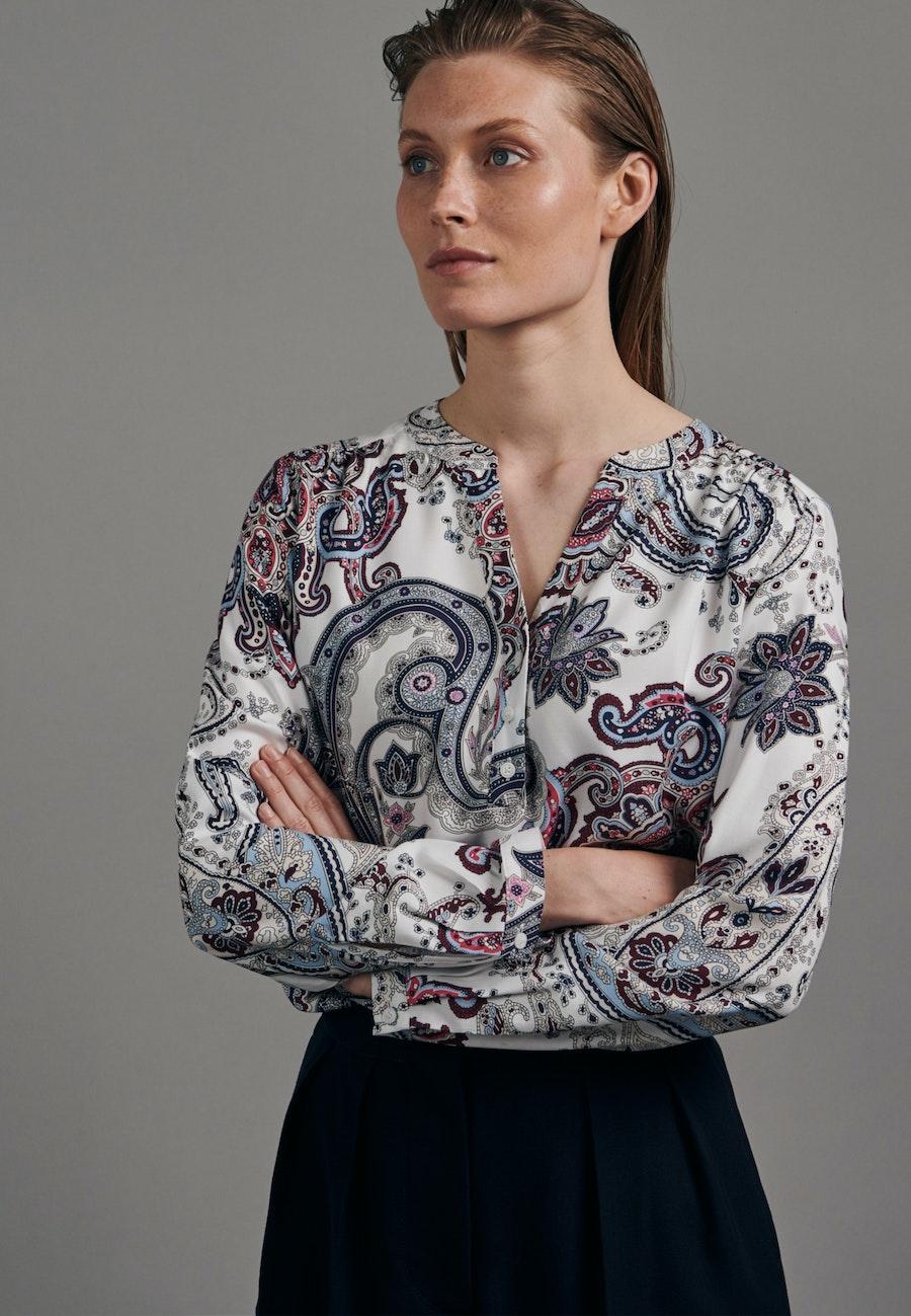 Twill Tunic made of 100% Viscose in White |  Seidensticker Onlineshop