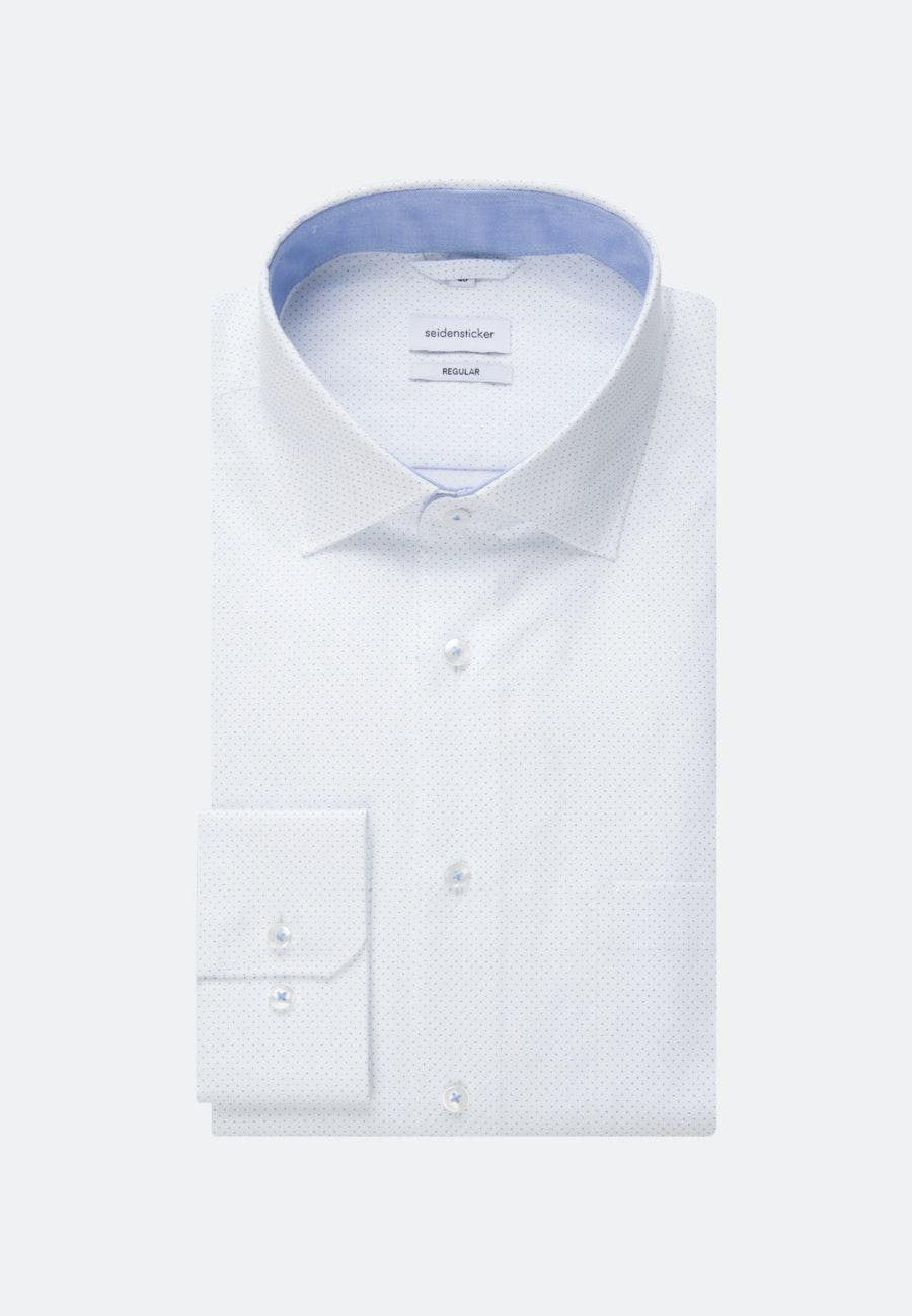 Oxfordhemd in Regular mit Kentkragen in Hellblau |  Seidensticker Onlineshop