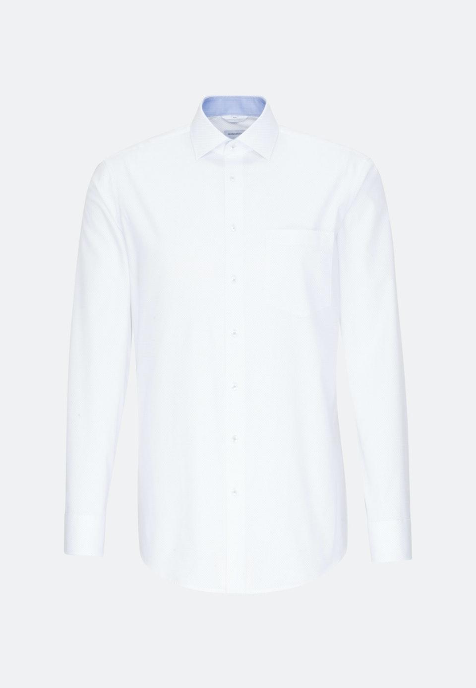 Easy-iron Oxford Business Shirt in Regular with Kent-Collar in Light blue |  Seidensticker Onlineshop