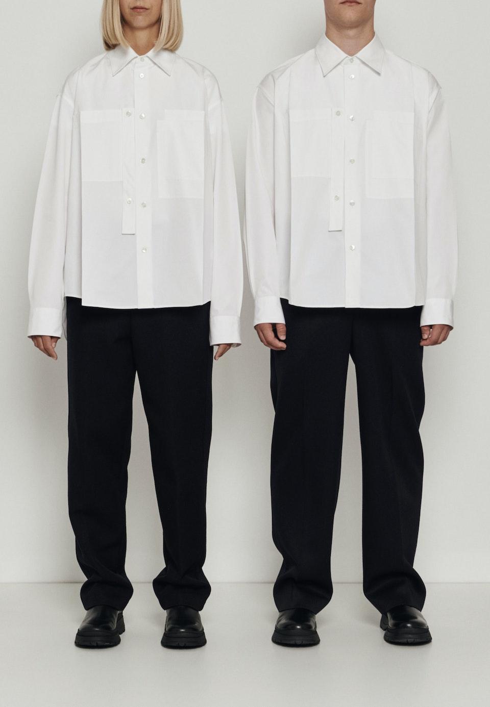 Murkudis Military Jacket in White |  Seidensticker Onlineshop