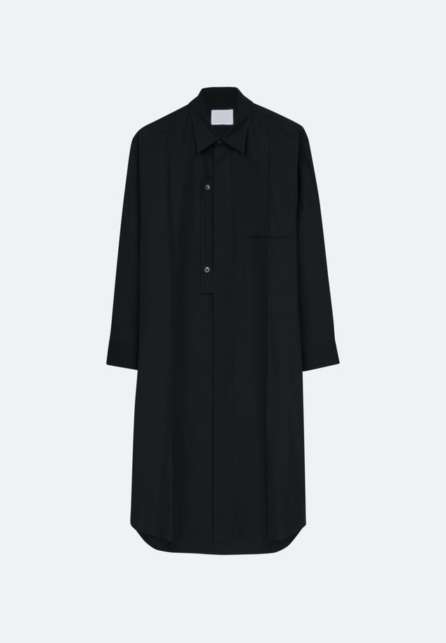 Murkudis Long Shirt in Schwarz |  Seidensticker Onlineshop