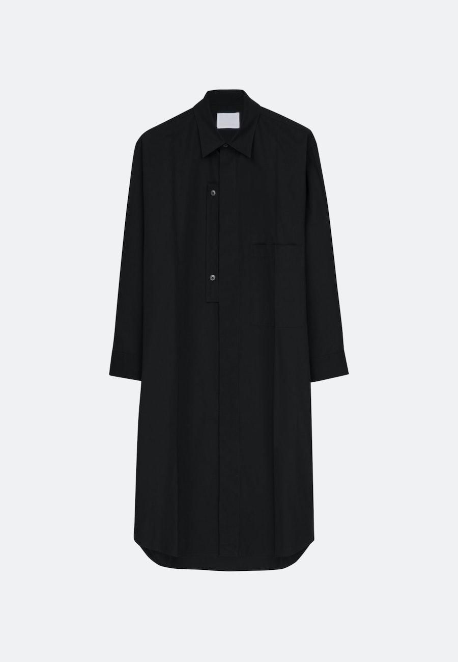 Murkudis Long Shirt in Schwarz |  Seidensticker Onlineshop